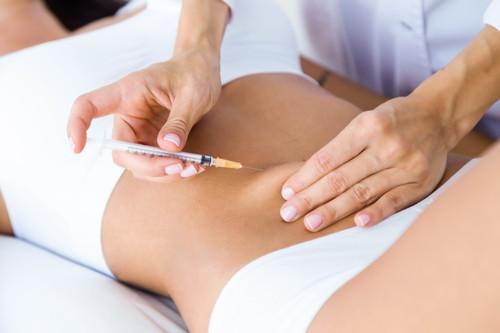 mesoterapía inyección